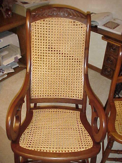 Chair Caning Instructions