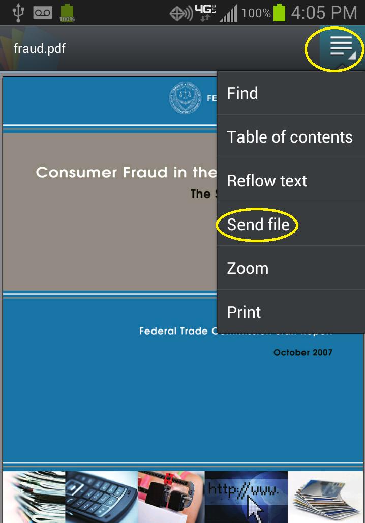 Select Send